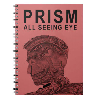 PRISM - All Seeing Eye - Raspberry Note Book