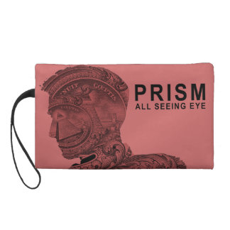 PRISM - All Seeing Eye - Raspberry Wristlet Purse