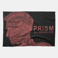 PRISM - All Seeing Eye - Red Hand Towel (<em>$21.95</em>)
