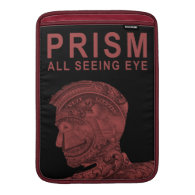 PRISM - All Seeing Eye - Red MacBook Air Sleeve (<em>$81.95</em>)