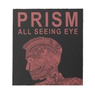 PRISM - All Seeing Eye - Red Memo Notepads (<em>$13.95</em>)