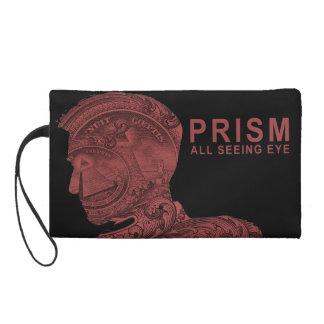 PRISM - All Seeing Eye - Red Wristlet