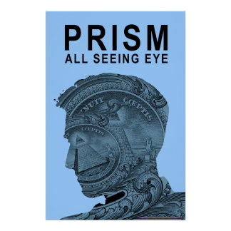 PRISM - All Seeing Eye - SkyBlue Poster
