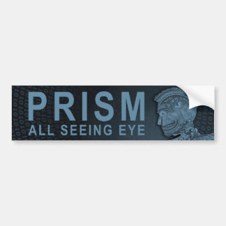 PRISM - All Seeing Eye - Slate Bumper Stickers