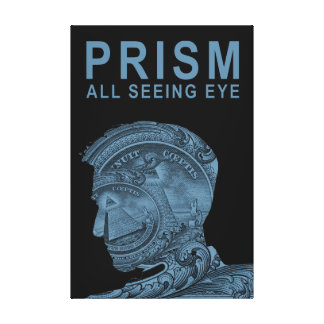 PRISM - All Seeing Eye - Slate Canvas Print