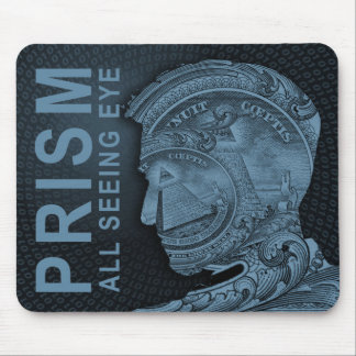 PRISM - All Seeing Eye - Slate Mouse Pad