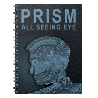 PRISM - All Seeing Eye - Slate Spiral Note Books