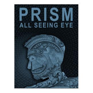 PRISM - All Seeing Eye - Slate Postcard