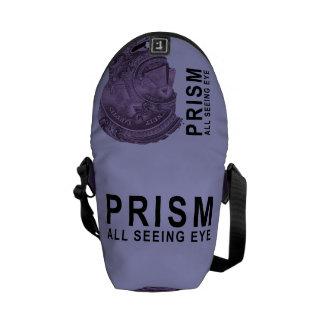 PRISM - All Seeing Eye - Violet Courier Bag