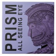 PRISM - All Seeing Eye - Violet Large Square Tile (<em>$21.95</em>)