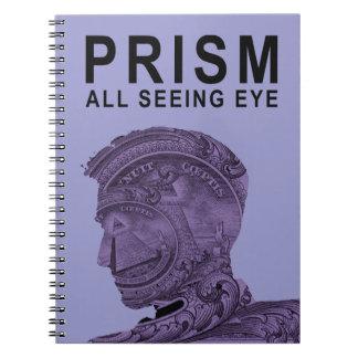 PRISM - All Seeing Eye - Violet Notebooks