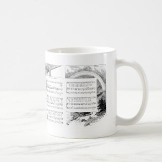 Prism and Rainbow Song and Music Coffee Mug
