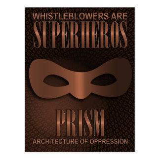 "PRISM - ""ARCHITECTURE OF OPPRESSION"" POSTCARD"