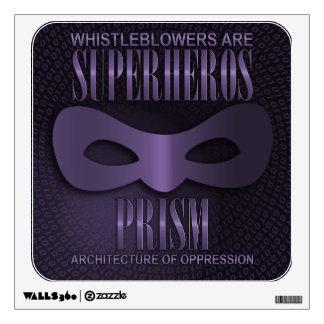 "PRISM - ""ARCHITECTURE OF OPPRESSION"" WALL STICKER"