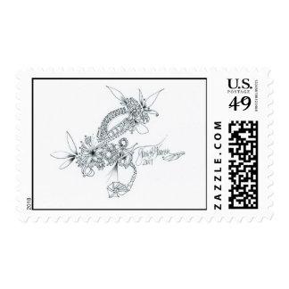 Prism Break Postage Stamp