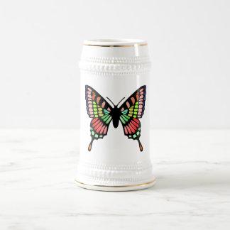 Prism Butterfly Beer Stein