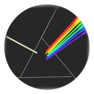 prism classic round sticker