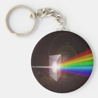 Prism Color Spectrum Space Stars Galaxy  DE LaRue Keychain