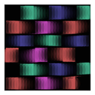 Prism - Color Weave on a Poster