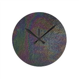 Prism Design Round Clock