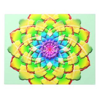 Prism Flower Mandala Notepad