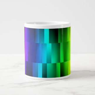 Prism Fractions Large Coffee Mug