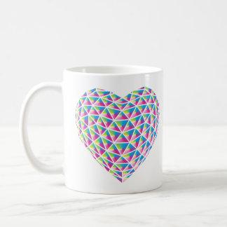 Prism Heart Mug Design