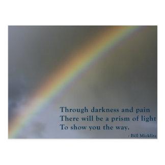 Prism Of Light Postcard