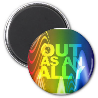Prism - Out as an Ally Refrigerator Magnets