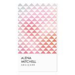 PRISM PHOTO in WHITE (Vertical) Double-Sided Standard Business Cards (Pack Of 100)