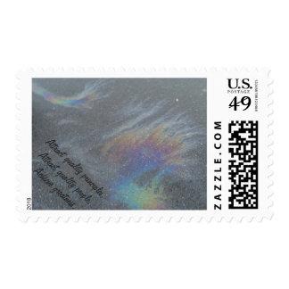Prism Postage Stamp