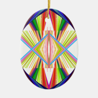 prism power ceramic ornament