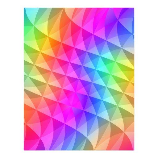 "prism squares pattern 8.5"" x 11"" flyer"