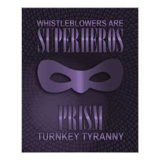 "PRISM - ""TURNKEY TYRANNY"" FULL COLOR FLYER"