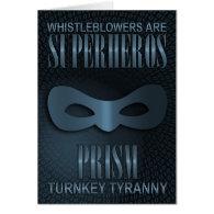 PRISM - TURNKEY TYRANNY GREETING CARD (<em>$4.00</em>)