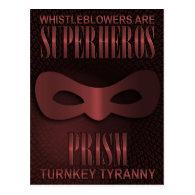 PRISM - TURNKEY TYRANNY POSTCARD (<em>$1.30</em>)