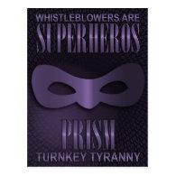 PRISM - &quot;TURNKEY TYRANNY&quot; POSTCARD (<em>$1.10</em>)