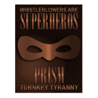 PRISM - &quot;TURNKEY TYRANNY&quot; POSTCARD (<em>$1.30</em>)