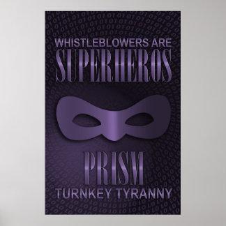 """PRISM - """"TURNKEY TYRANNY"""" POSTER"""