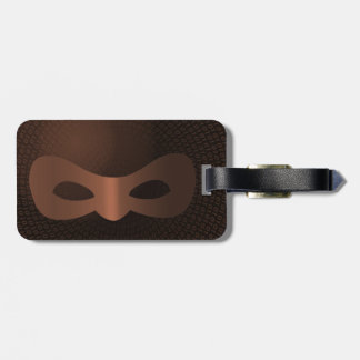 PRISM - WORLD WIDE THOUGHT POLICE- Bronze Luggage Tag