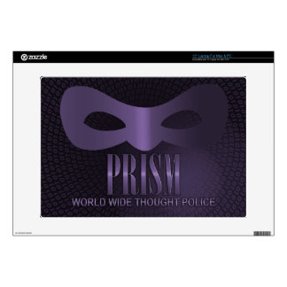 PRISM - WORLD WIDE THOUGHT POLICE DECALS FOR LAPTOPS