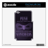 PRISM - WORLD WIDE THOUGHT POLICE DECAL FOR iPod TOUCH 4G (<em>$25.95</em>)
