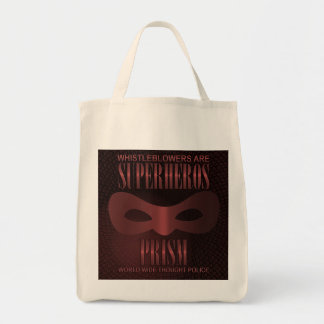 PRISM - WORLD WIDE THOUGHT POLICE TOTE BAG