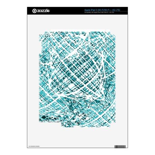 Prisma abstracta pegatinas skins para iPad 3