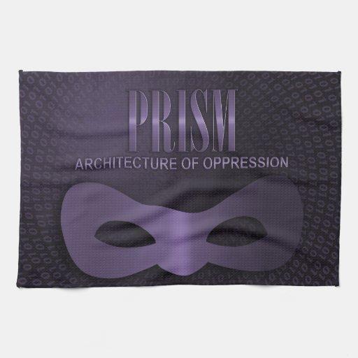 """PRISMA - """"ARQUITECTURA DE LA OPRESIÓN """" TOALLA DE MANO"""