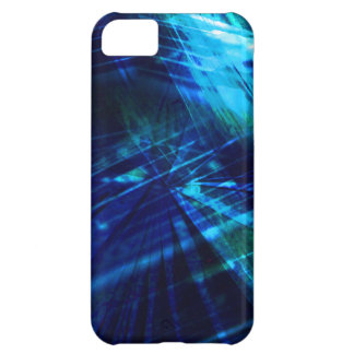 Prisma cristalina del vidrio del extracto de la funda para iPhone 5C