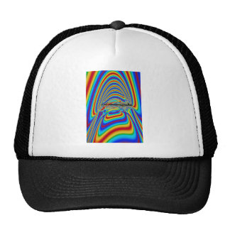 Prisma del arco iris gorro de camionero