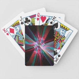Prisma del electrón, fractal hermoso barajas de cartas
