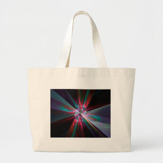 Prisma del electrón, fractal hermoso bolsa de tela grande
