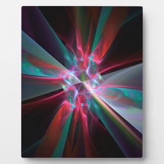 Prisma del electrón, fractal hermoso placas